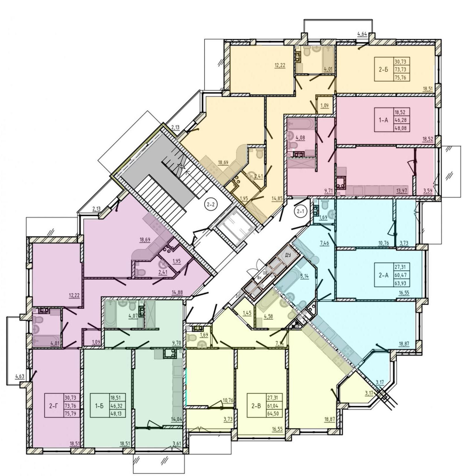 сан сити клаб хаус, клубный дом, план этажа сансити клабхаус, новострой одесса